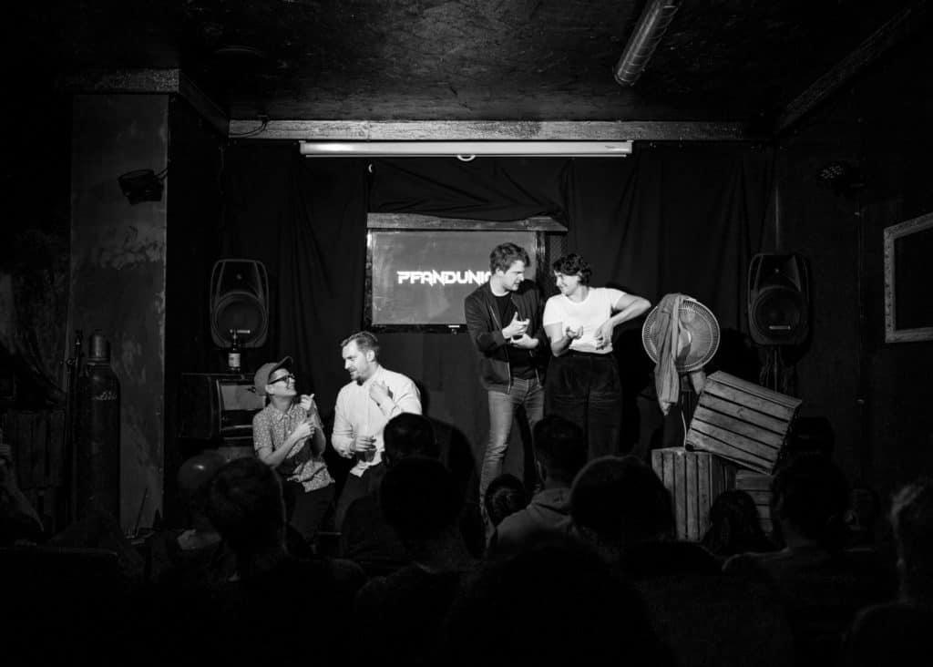 Long-form-improv: Impro-Comedy von Pfand im Mad Monkey Room in Berlin